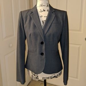 Calvin Klein Two Button Stretch Suit Jacket